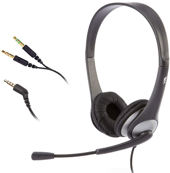 Cyber Acoustics Stereo AC-204 Headset